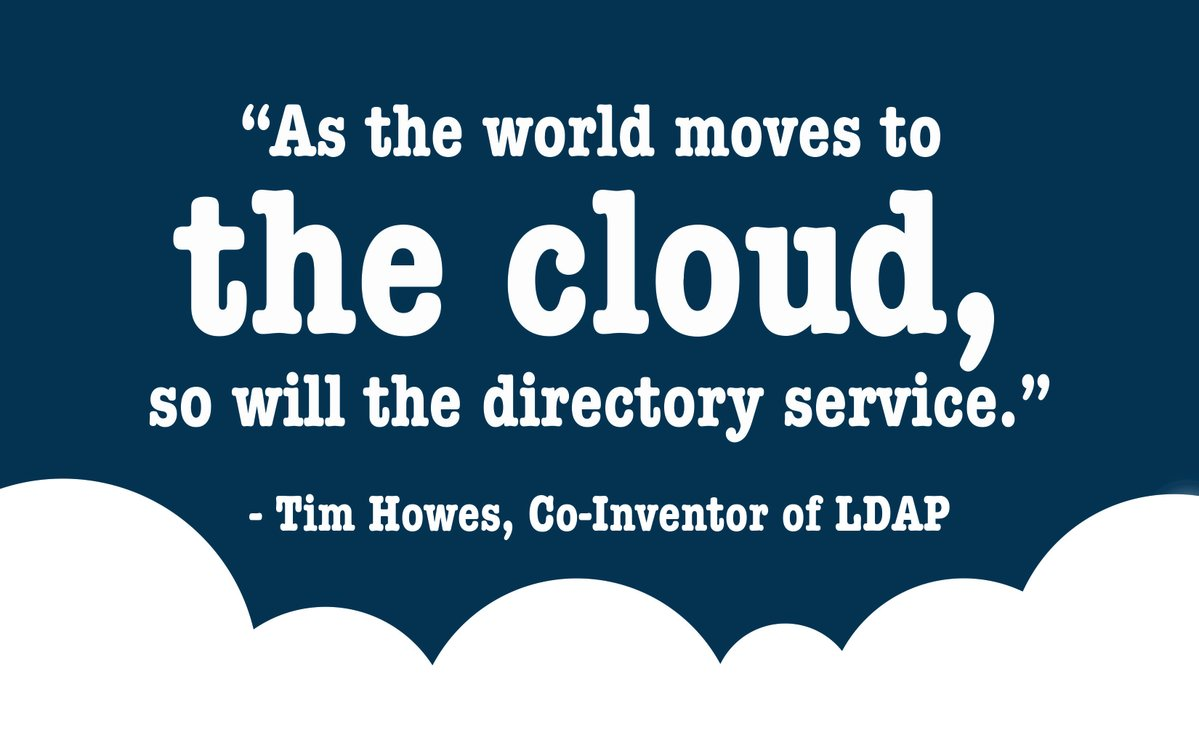 Directory-as-a-Service cloud solution
